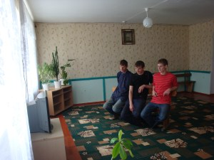 Телевизионная комната в общежитии