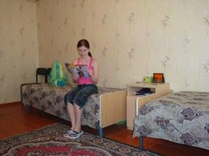 Жилая комната в общежитии